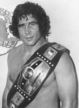 Gold standard: The late Jack Brisco always carried himself like a champion.