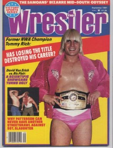 """The Randy the Ram character depicted by Mickey Rourke in fhe film """"The Wrestler"""" was not based on Tommy Rich, but it very well could have been."""